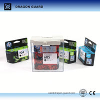 DRAGON GUARD EAS plastic cassette / box / safer, magnetic security box, cd security cases