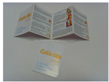 Promotional Booklets/Leafets Labels/Printed Promo Brochues print with Scratch off inks, fragranced inks