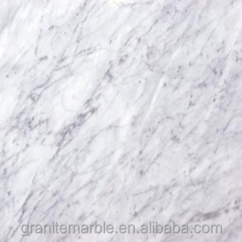 Bianco carrara marble tile for marble floor and skirting with low price
