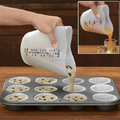 Heart shape silicone measuring cup