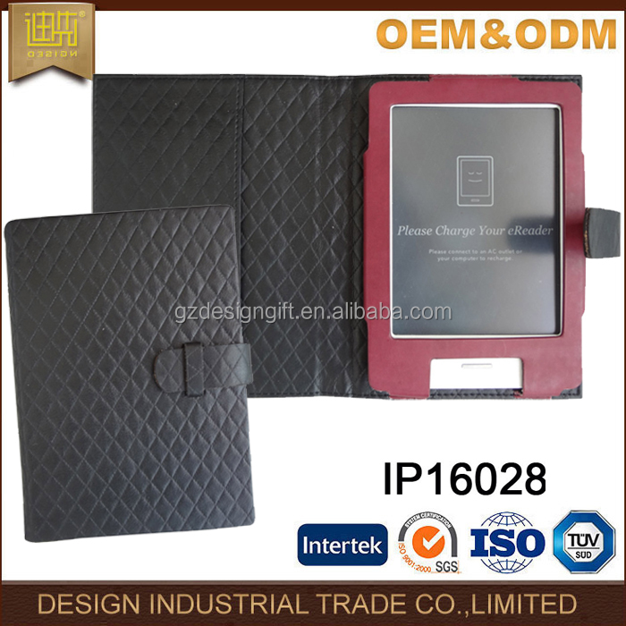 Shockproof material E book reader cover pu book case for 9.7 inch e-reader