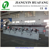 Straight line iron wire drawing equipment price for staple