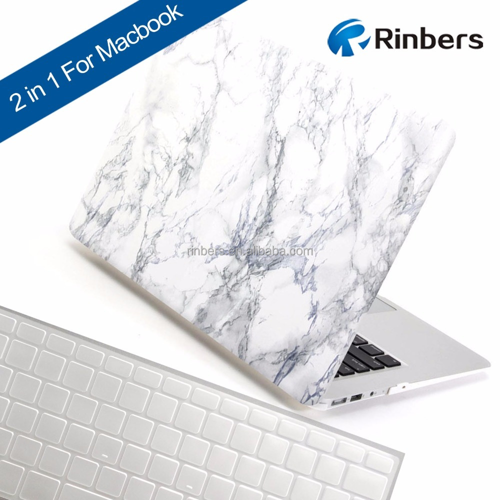 Custom White Black Marble Texture Hard Shell Sleeve Cover Case for MacBook Air 11 Pro Retina 12 13 15 for iPhone 5S 6 6S 7 6P