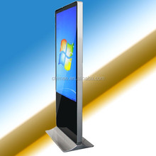 2015 hot sell high end touch totem wifi wireless display screen industrial touch screen panel pc