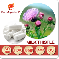 Lose Weight Silybin Milk Thistle Extract Softgel Capsules