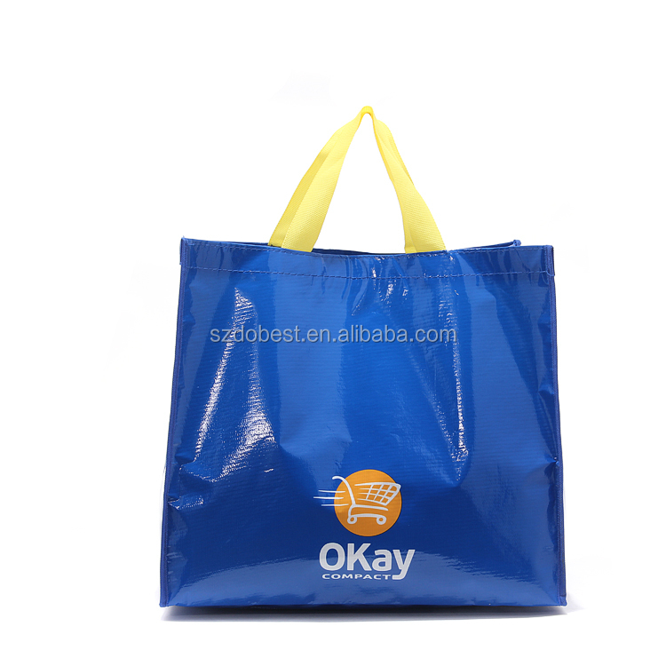Best Seller 2016 Top Brand In China Leader Reusable Shopping Online PP Woven Bag