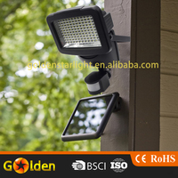 120 pcs high power motion sensor led solar light
