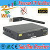 free shipping Satellite receiver Freesat V8 Golden HD DVB-S2+T2+C+1pcs USB Wifi PowerVu Youtube Youporn Biss Key Cccam Newcamd