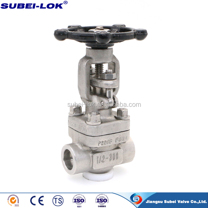 a105 Gate Valve 800LB Forged Steel Integral Flanged Gate Valve