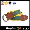 Special OEM canvas belt striped