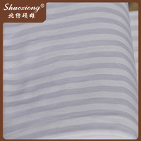 high quality hotel white polyester/cotton fabric for bedding