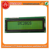 20 x2 lcd display module with wide temperature range