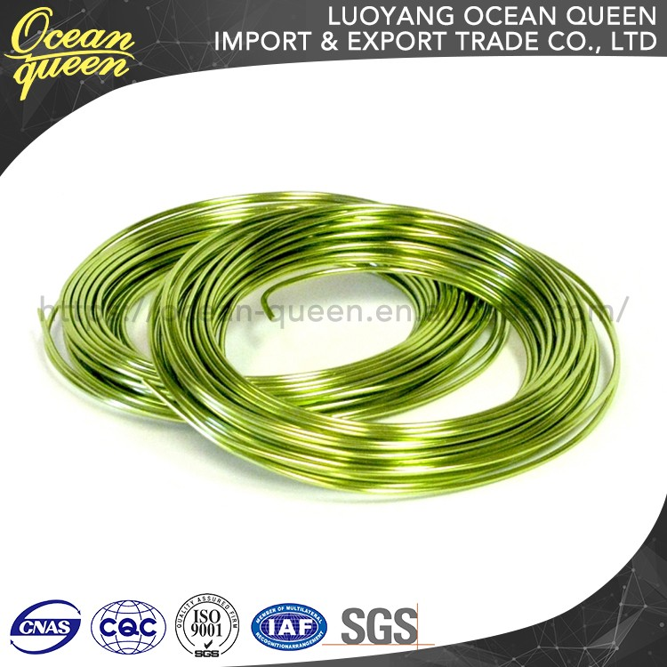 High Quality Straight Colored Jewelry Aluminum Wire