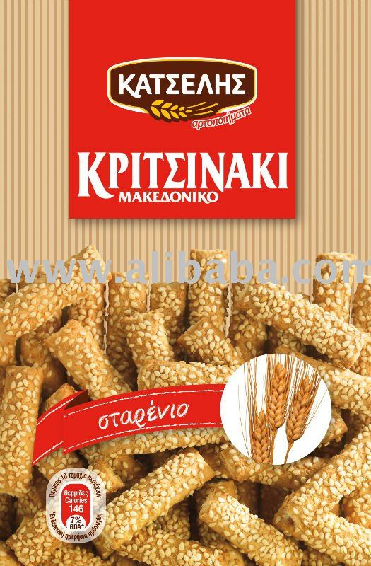 """KATSELIS' WHEAT BREADSTICKS"
