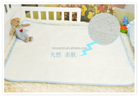 waterproof terry+TPU+Polyester changing mat/padded changing mat