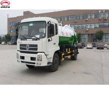Dongfeng 4x2 Vacuum Sewer Sewage Fecal Suction Sucker Truck