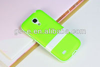 Factory price for Samsung Galaxy S4 i9190 TPU fresh color slim cover case with stand