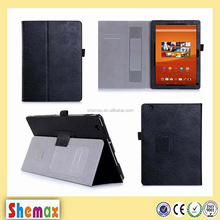 Leather cover leather flip case tablet cover magnatic case for Sony Z4, For Sony Z4 tablet case cover