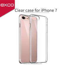 EXCO camera protected best selling brand name crystal phone cover for iPhone 7