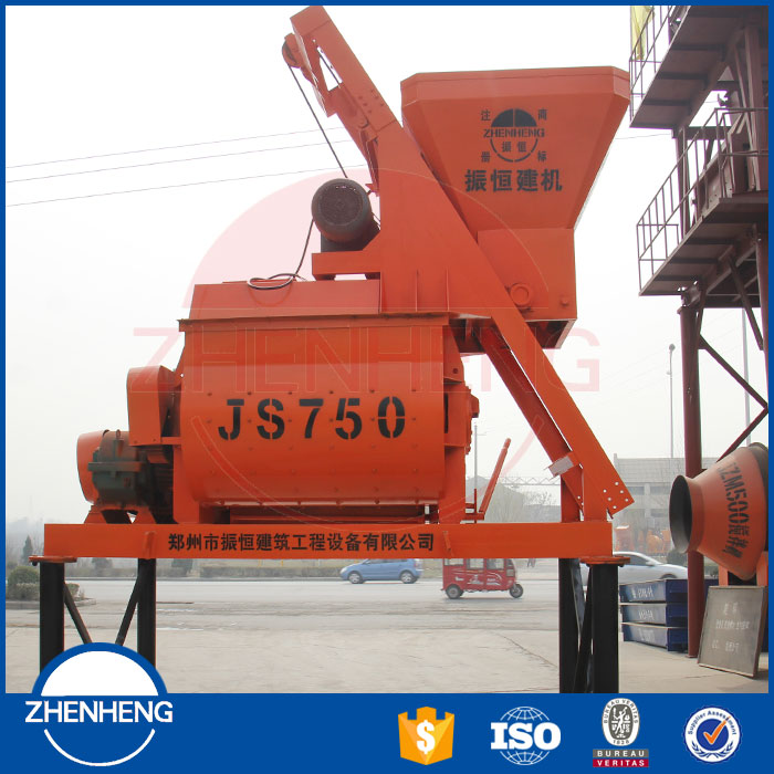 Self-Loading Forced Concrete Mixer 750L Concrete Mixer Prices In India