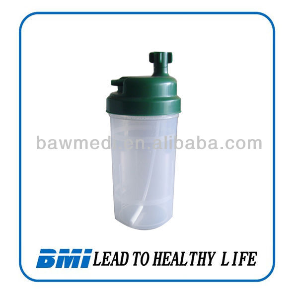 China medical oxygen flow meter humidifier/flow meter bottle