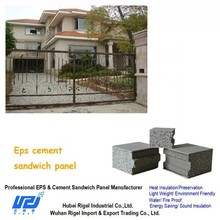 Ease of construction Space Saving Economical concrete board siding for precast house project