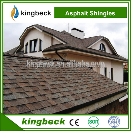 2017 hot sell 3-tab/Mosaic/fish scale asphalt shingles with 7 colors