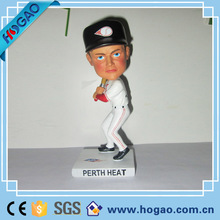 Personalized 7 inches Bobble Head Sports Action Figurine