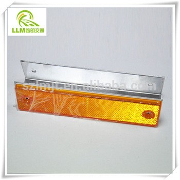Outstanding stable price superior materia rectangle reflective road delineator