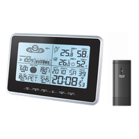 YD8203A Digital Weather Station and Projection Clock Display of HOT Large LCD