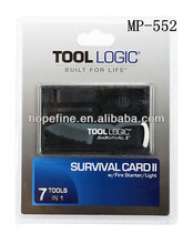 Tool Logic Survival Card credit card multi survival tool gift tool