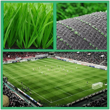 Low maintenance football/soccer sport synthetic grass lawn