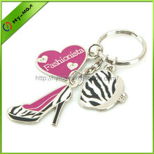 Promotional high quality metal keychain manufacturers in china