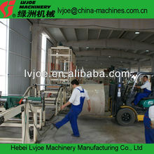 New Type Building Construction Materials Gypsum Board Making Machine