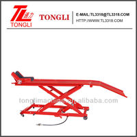 1000lbs TL1700-4A air motorcycle lift bench