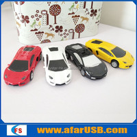 Metal car/automobile/motor vehicle usb flash drive with logo printing and optional colors for gifts and toys