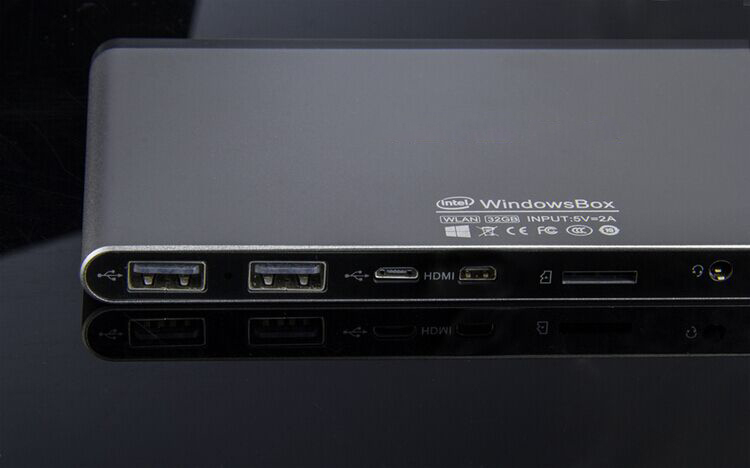 Intel Atom Z3735F 2G RAM 32G ROM Fanless Windows 8.1Mini PC