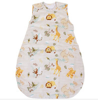 Hot Sales 100% Cotton Baby Children Blanket Sleeping Bags