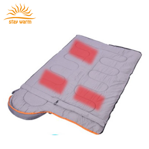 2018 New Product Battery operated Heated Sleeping Bag Alternative for Cold Weather Camping