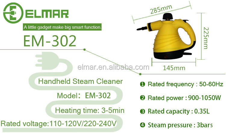 handheld steam cleaner with window attachment for home use