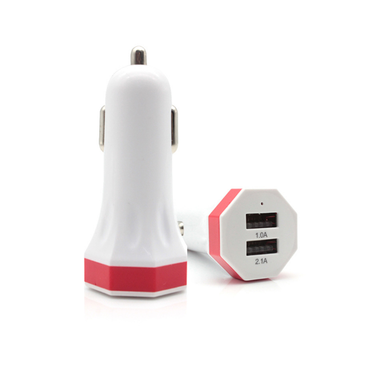 Universal Shenzhen Factory 12V 3.1A 2 Port Electric Usb Car Charger