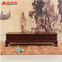 Antique Classic Wood TV Stand Living Room Furniture Wooden Storage Design Chinese Redwood TV Stands Cabinet