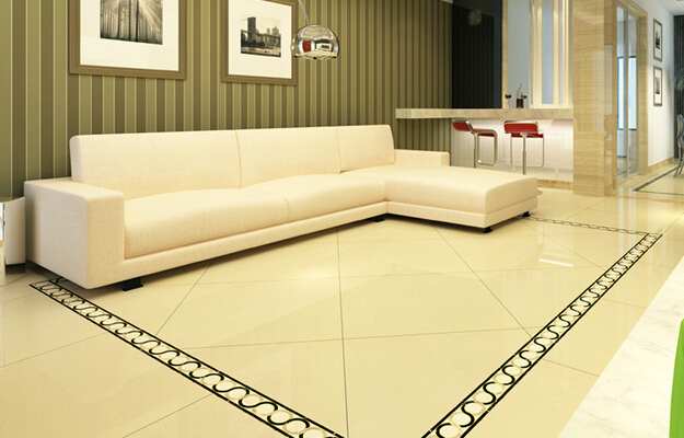 Vitrified tile flooring