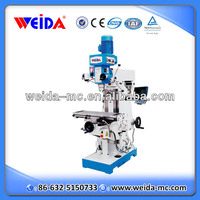 XZX7550CW small universal vertical milling drilling machine with dro
