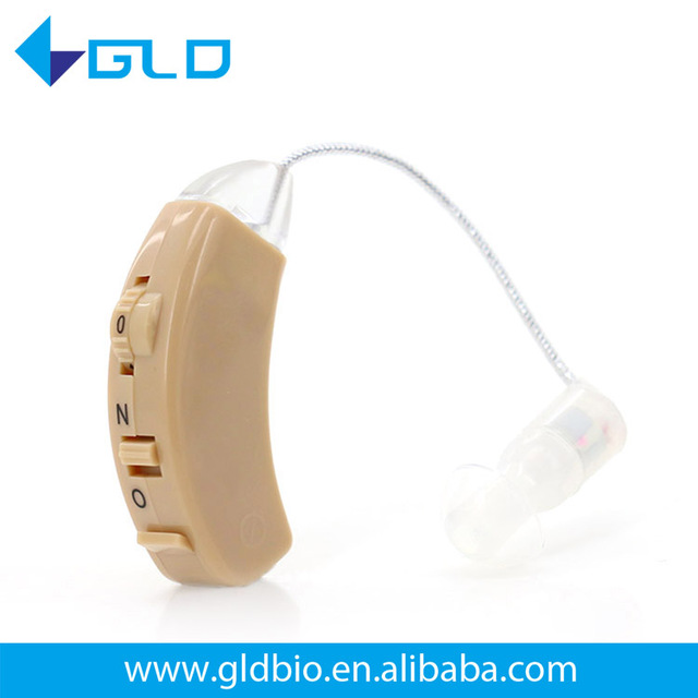 Best quality bte hearing aid with accessories silicon body aids