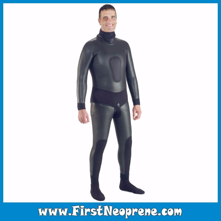Glue Sealed Waterproof Insulation Neoprene Smooth Skin Spearfishing Wetsuit For Underwater Hunter