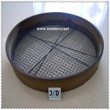 Wooden Garden Double Interchangeable Mesh Riddle/Sieve---Soil Compost Riddles/Sieves