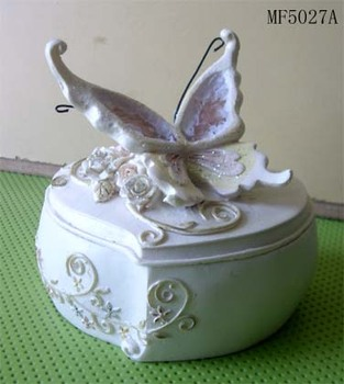 Polyresin Jewelry box