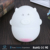 Portable Pig clock Lamp silicone colorful chaning night light