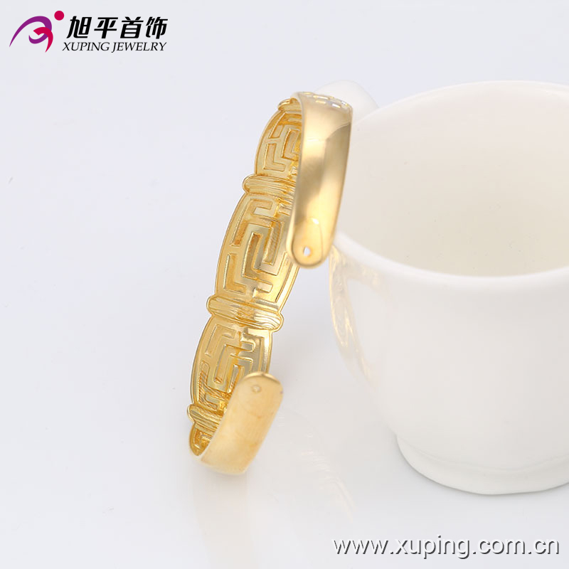 51356 New Design Alloy indian style gold Plated Bangle